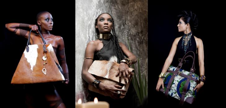 Sacs africains en cuir, Peaux & Bogolan