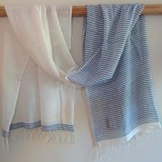Aaron shawl - navy