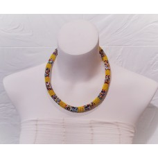Samankha necklace - yellow