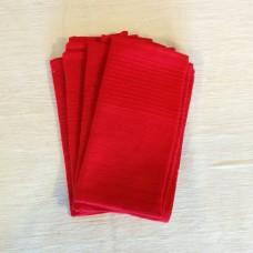 Fetel Napkins - red
