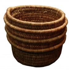 Small ribbed pot