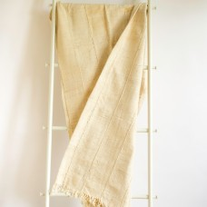 Ivory cotton Throw