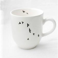 Large mug - birds