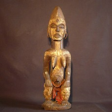 African statuette - Idoma female