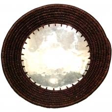 Large plain Aluminium Bowl - chocolat