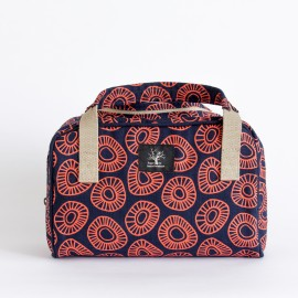 Overnight toiletry Cap Town - Orange / Blue