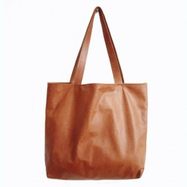 Tote bag love - Leather
