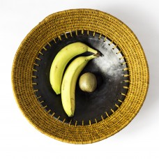 Bol à fruit design - or