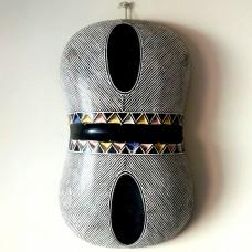 Bouclier Zulu coloré