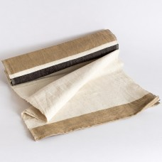 Chemin de table Gondar - cacao / beige