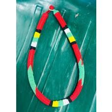 Collier Samankha - rouge