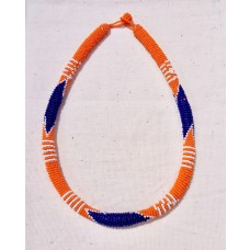 Collier Samankha - orange