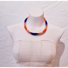 Collier Samankha - orange
