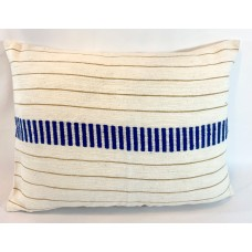Coussin rectangulaire - axum bleu