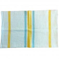 Napperon Gondar - bleu / tournesol