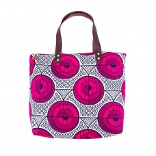 Sharp shopping bag - wax rose